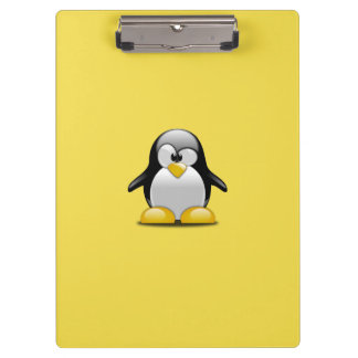 Porte-bloc Pingouins mignons de personnaliser