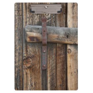 Porte-bloc Plan rapproché en bois de porte, la Californie