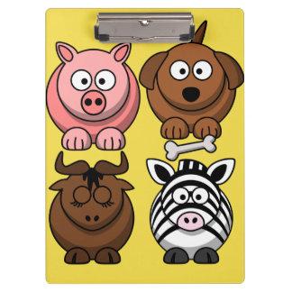 Porte-bloc Porte - bloc mignon d'animaux d'enfant de