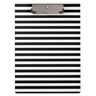 Porte-bloc Porte - bloc rayé noir et blanc