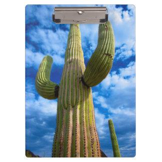 Porte-bloc Portrait de cactus de Saguaro, Arizona