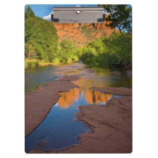 Porte-bloc Rivière au croisement rouge de roche, Arizona