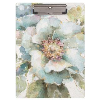 Porte-bloc Rose de bleu