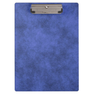 Porte-bloc Simili cuir dans le bleu obscurci