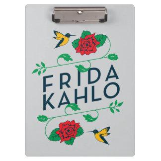 Porte-bloc Typographie florale de Frida Kahlo |