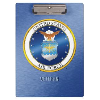 Porte-bloc U.S. Porte - bloc de vétéran de l'Armée de l'Air