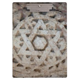 Porte-bloc Vieille étoile de David découpant, Israël