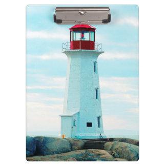 Porte-bloc Vieux phare, océan bleu, maritime, nautique