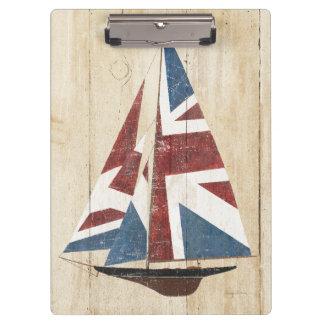 Porte-bloc Voilier britannique de drapeau