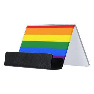 Porte-cartes avec le drapeau de fierté de LGBT