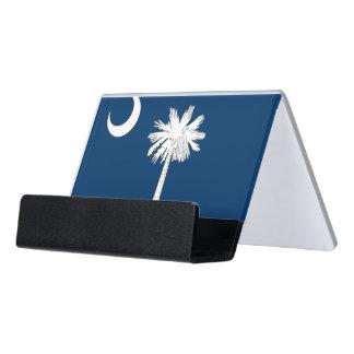 Porte-cartes avec le drapeau de la Caroline du