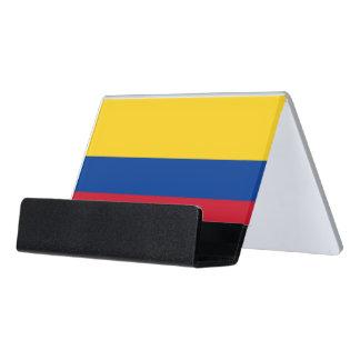 Porte-cartes avec le drapeau de la Colombie