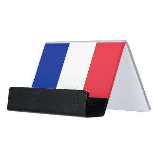 Porte-cartes avec le drapeau de la France