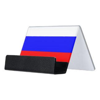 Porte-cartes avec le drapeau de la Russie