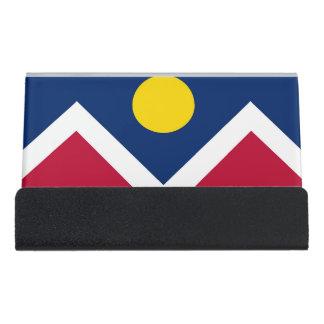 Porte-cartes avec le drapeau de la ville de