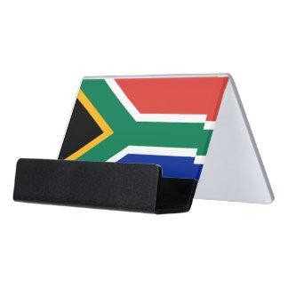 Porte-cartes avec le drapeau de l'Afrique du Sud