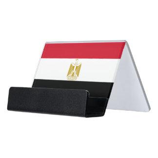 Porte-cartes avec le drapeau de l'Egypte