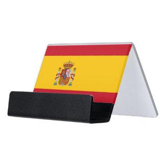 Porte-cartes avec le drapeau de l'Espagne