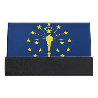 Porte-cartes avec le drapeau de l'état de