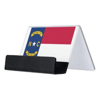 Porte-cartes avec le drapeau de l'état de la