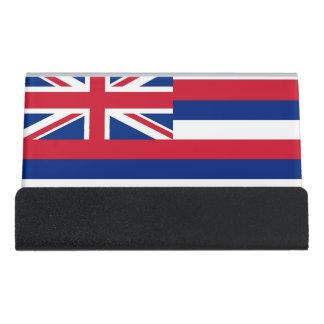 Porte-cartes avec le drapeau de l'état d'Hawaï,