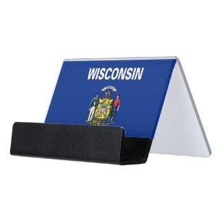 Porte-cartes avec le drapeau de l'état du