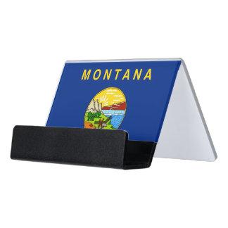 Porte-cartes avec le drapeau de l'état du Montana,