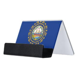 Porte-cartes avec le drapeau de l'état du New