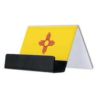 Porte-cartes avec le drapeau de l'état du Nouveau