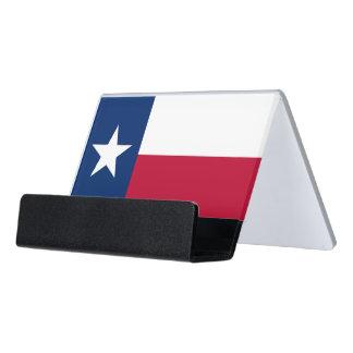 Porte-cartes avec le drapeau de l'état du Texas,
