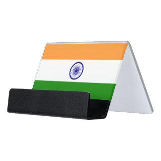 Porte-cartes avec le drapeau de l'Inde