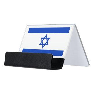Porte-cartes avec le drapeau de l'Israël