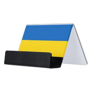 Porte-cartes avec le drapeau de l'Ukraine