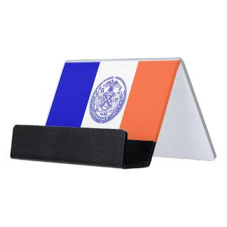 Porte-cartes avec le drapeau de New York City,