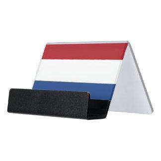 Porte-cartes avec le drapeau de Pays-Bas