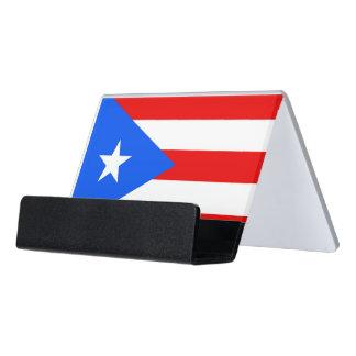 Porte-cartes avec le drapeau de Porto Rico,