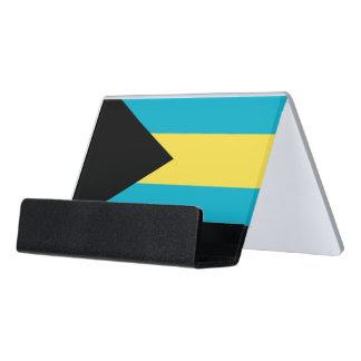 Porte-cartes avec le drapeau des Bahamas
