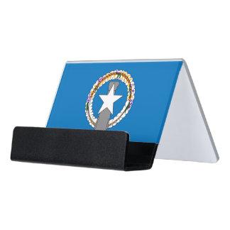 Porte-cartes avec le drapeau des Mariannes du Nord
