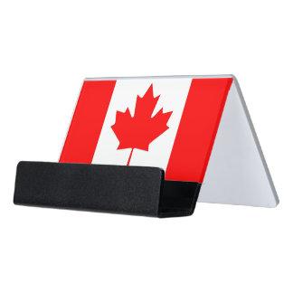 Porte-cartes avec le drapeau du Canada