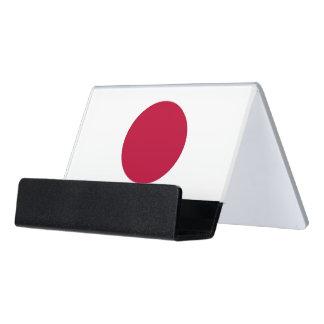 Porte-cartes avec le drapeau du Japon