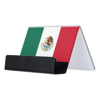 Porte-cartes avec le drapeau du Mexique