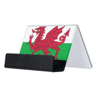 Porte-cartes avec le drapeau du Pays de Galles