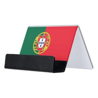 Porte-cartes avec le drapeau du Portugal