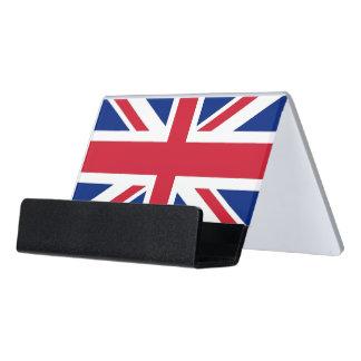 Porte-cartes avec le drapeau du Royaume-Uni
