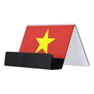 Porte-cartes avec le drapeau du Vietnam