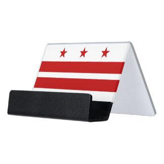 Porte-cartes avec le drapeau du Washington DC,