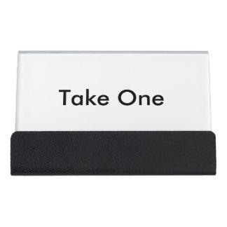 Porte-cartes de carte de visite