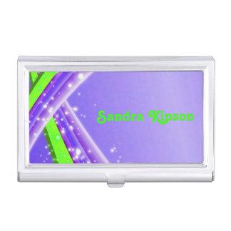 Porte-cartes de carte de visite abstrait de porte-cartes de visite
