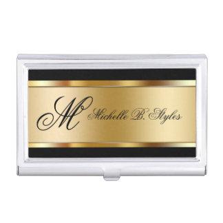 Porte-cartes de carte de visite chics de beauté porte-cartes de visite