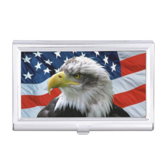 Porte-cartes de carte de visite de drapeau boîtier pour cartes de visite